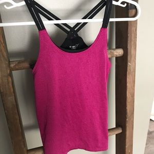 Old Navy Pink and Black tank top